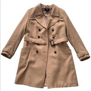 Mid length pea coat